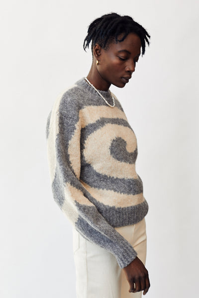 Paloma Wool Twister Sweater / Melange Grey Parc Shop
