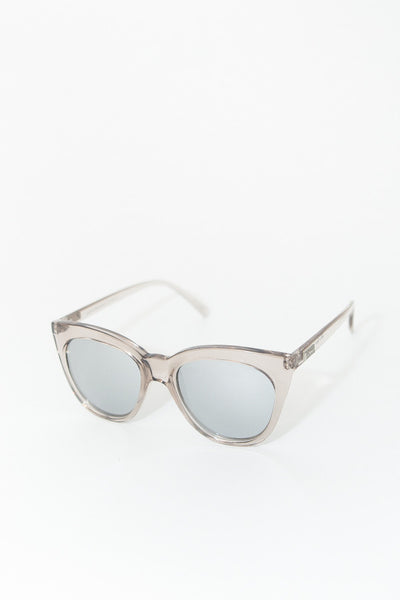 Le Specs Halfmoon Magic Sunglasses / Stone