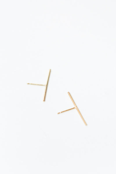 Baleen Long Stick Studs / Gold