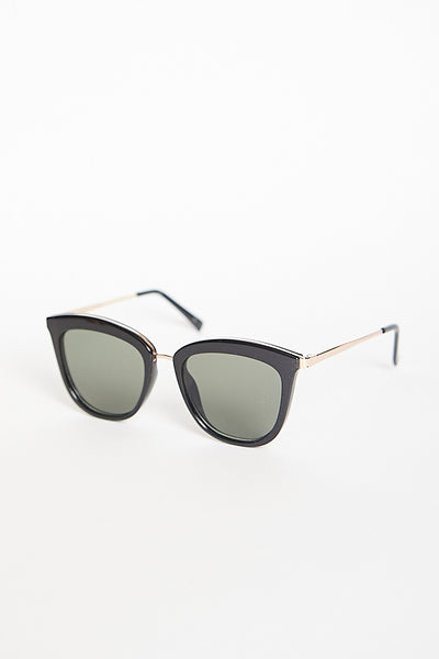 Le Specs Caliente Sunglasses / Black Gold