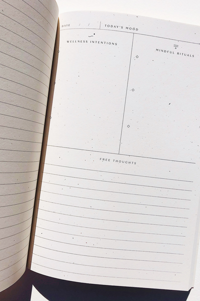 Wilde House Paper Rituals & Wellness Journal Parc Shop