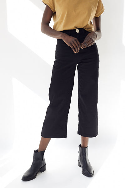 Whimsy + Row Flora Pant / Black Parc Shop
