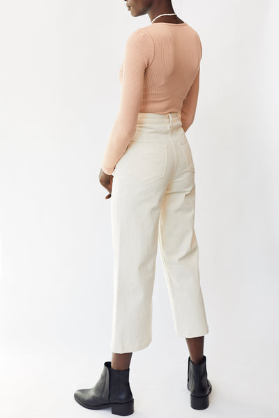 Whimsy & Row Flora Pant / Natural Parc Shop