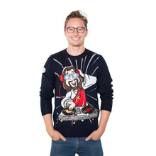 Load image into Gallery viewer, DJ Jesus Christmas Jumper