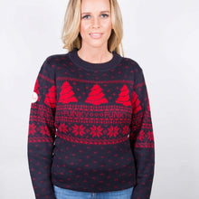 Load image into Gallery viewer, Fair Isle Christmas Jumper