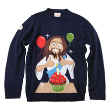 Load image into Gallery viewer, Happy Birthday Jesus Christmas Jumper