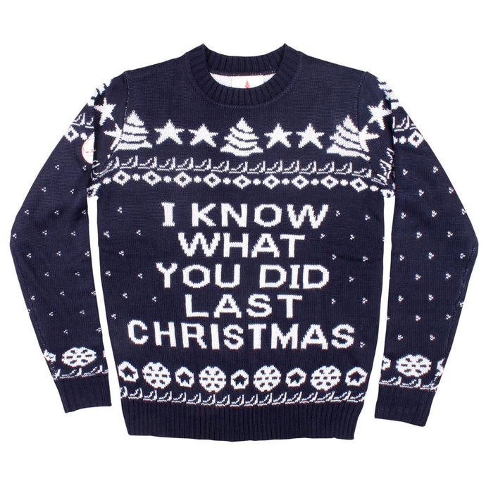 I know what you did last Christmas , Christmas Jumper