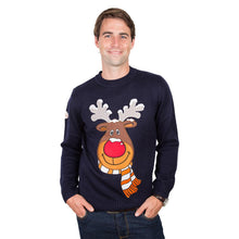 Load image into Gallery viewer, Funky Christmas Jumper rudolph christmas jumper for male