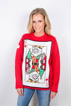 Load image into Gallery viewer, Santa of Hearts Christmas Jumper