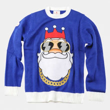 Load image into Gallery viewer, Bling Santa Christmas Jumper
