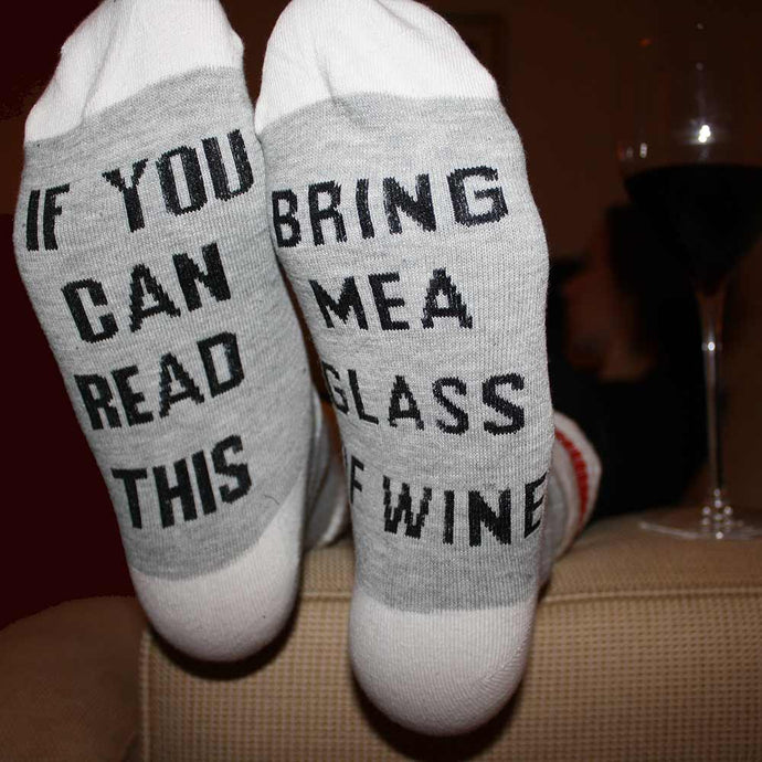 If you can read hit bring me a glass of wine!