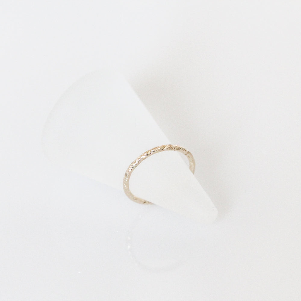 Stardust Gold Ring