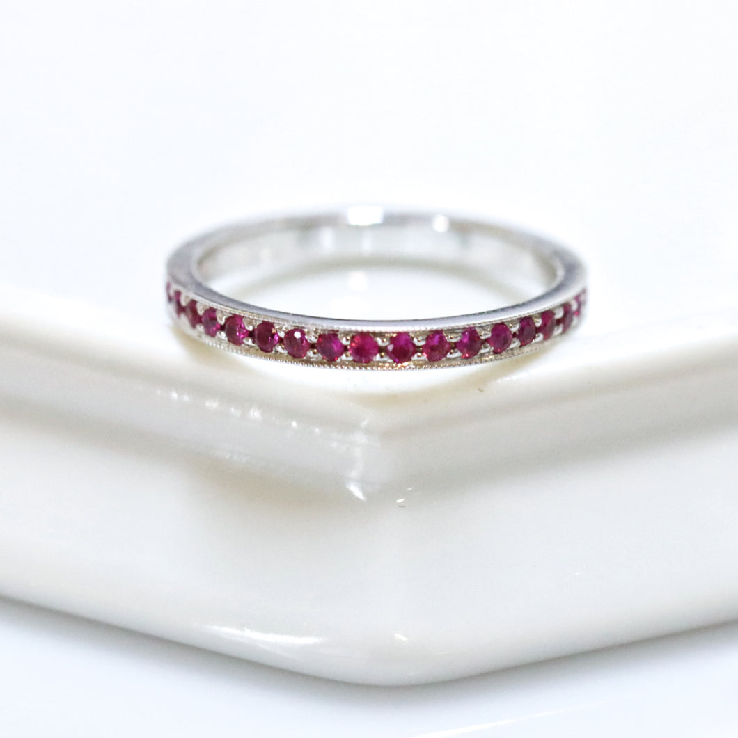 Eternity Ruby Ring