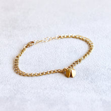Load image into Gallery viewer, Fortune Cookie Gold Bracelet