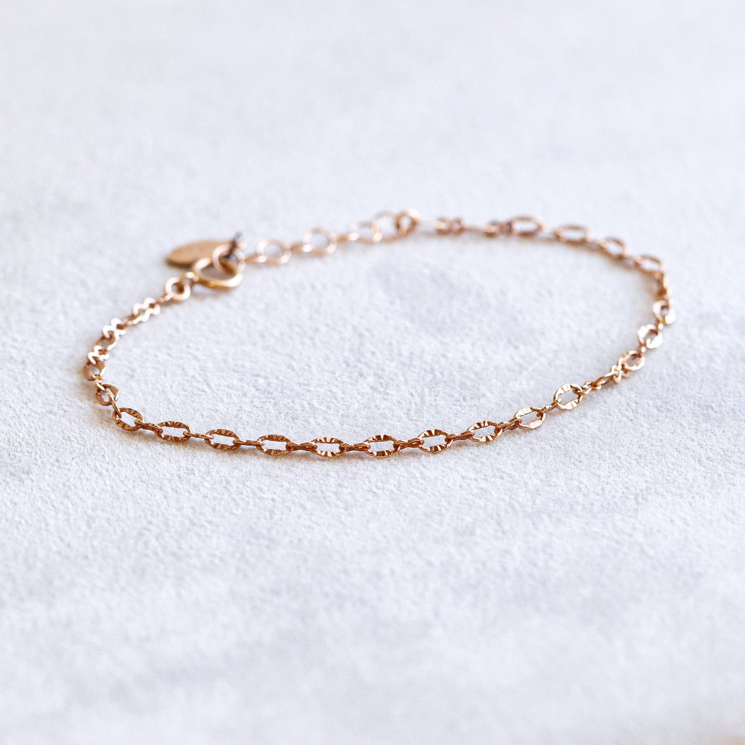 Tracy Rose Gold Bracelet
