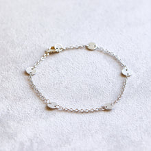 Load image into Gallery viewer, Disco Silver Bracelet