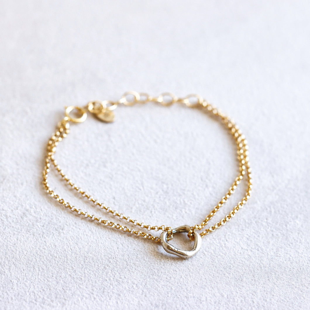 Unity Two Toned Bracelet
