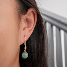 Load image into Gallery viewer, Aventurine Drop Earrings