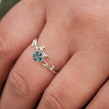 Load image into Gallery viewer, London Blue Topaz Branch Ring