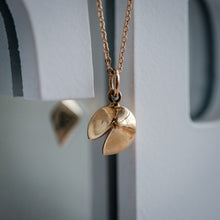 Load image into Gallery viewer, Fortune Cookie 14k Necklace