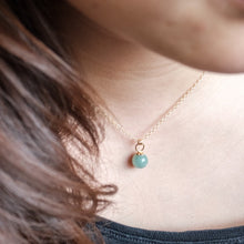 Load image into Gallery viewer, Aventurine Drop Necklace