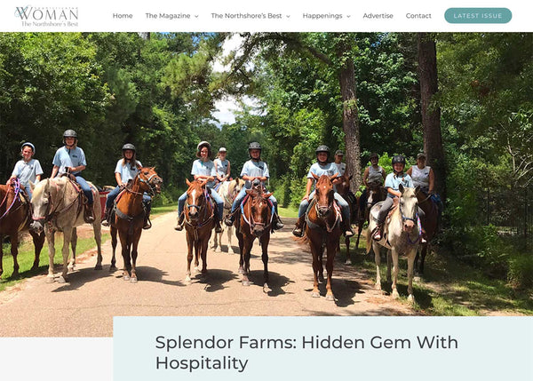 Sophisticated Woman Feature of Splendor Farms