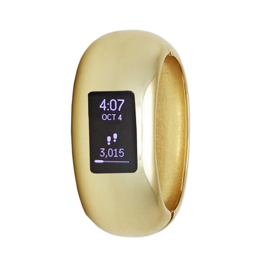 The EVELYN INSIGHT for Fitbit Charge 2 and Charge 3 in Gold