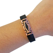 Load image into Gallery viewer, The HAYDEN Unisex Cover for Fitbit Flex 2 in Rose Gold
