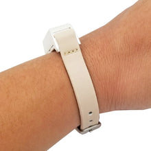 Load image into Gallery viewer, The KATE Single-Strap in Beige and Silver for Fitbit Flex 2