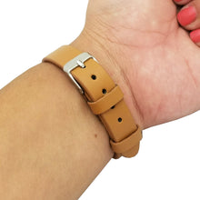 Load image into Gallery viewer, The KATE INSIGHT Studded Single Strap in Tan and Silver