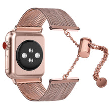 Load image into Gallery viewer, Multiple Strand Toggle Series 4 Apple Watch Band in Rose Gold/Copper - Apple Watch Series 1, 2, 3, 4
