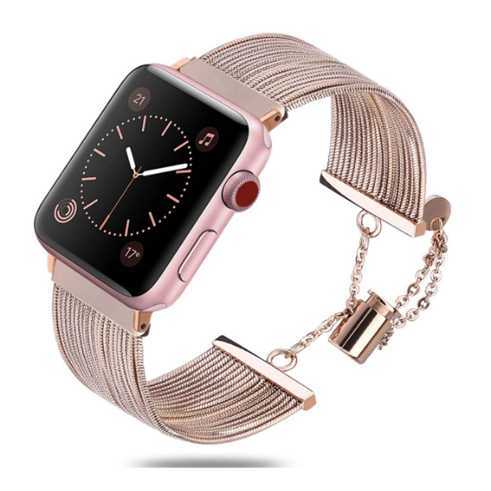 Multiple Strand Toggle Series 4 Apple Watch Band in Rose Gold/Copper - Apple Watch Series 1, 2, 3, 4