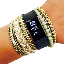 Load image into Gallery viewer, The ROSIE Fitbit Charge 2 Band in Cream