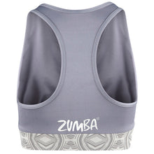 Load image into Gallery viewer, Zumba Fitness Lifted Mid-Level V-Bra - Greys the Way