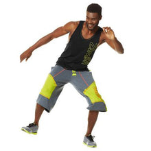 Load image into Gallery viewer, Zumba Unisex Funk Phenom Jersey Jammers Shorts - Grey
