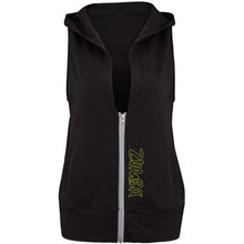 Load image into Gallery viewer, Zumba Gotta Jam Sleeveless Hoodie - Black