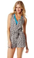 Load image into Gallery viewer, Zumba Fitness Print Perfect Romper - Thunderin Grey