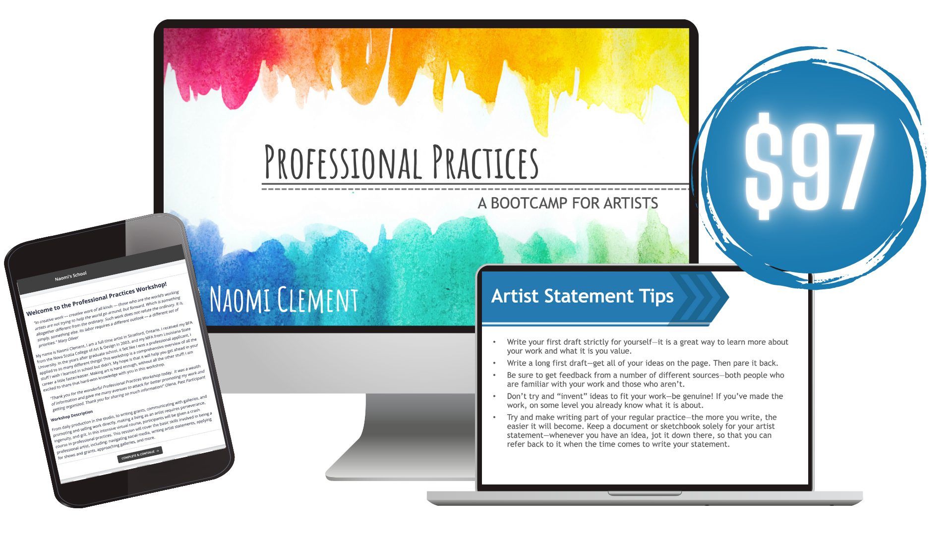Professional Practices: A Bootcamp for Artists