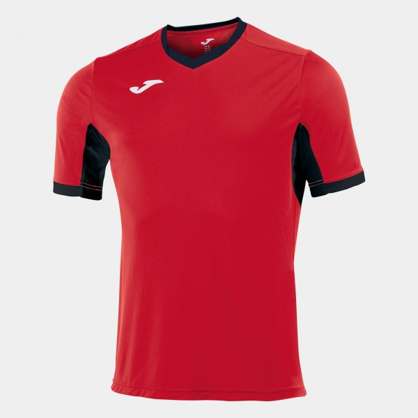 Joma T-Shirt Championship Iv Red-Black S/S