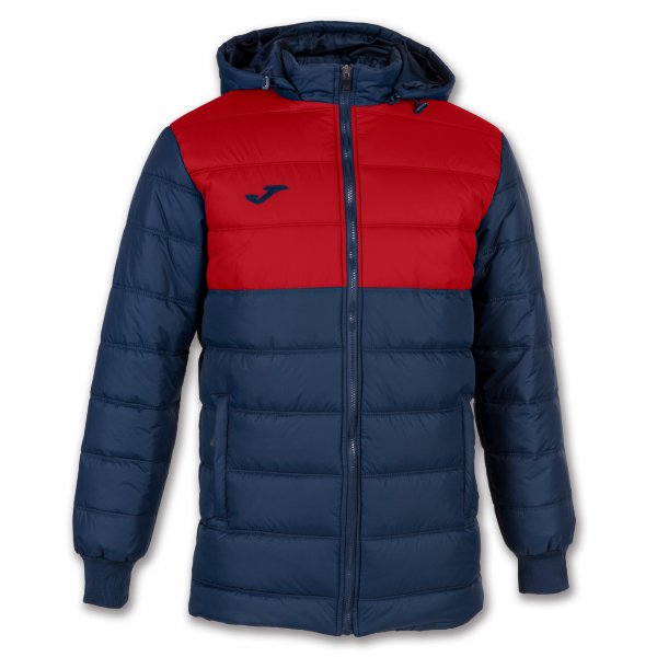 Joma Urban Ii Winter Jacket Dark Navy-Red