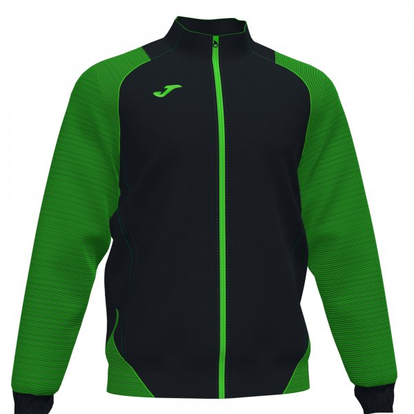 Joma Essential Ii Jacket Fluor Green-Black