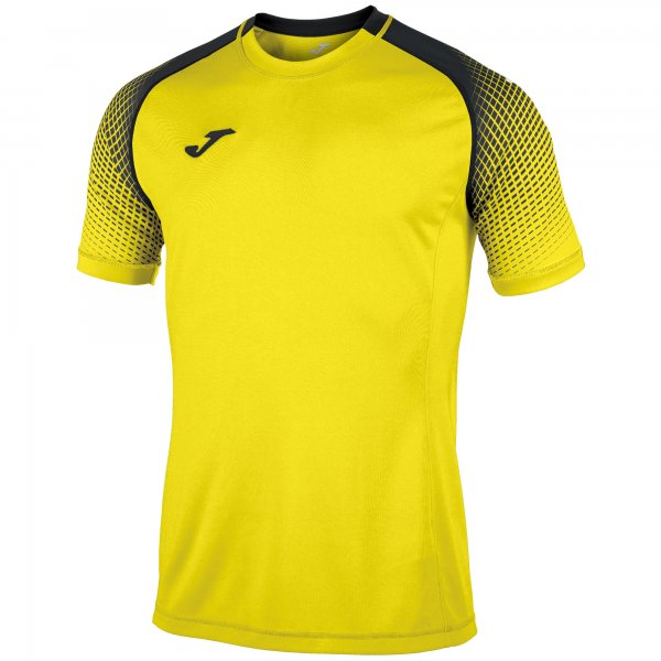 Joma S/S T-Shirt Dinamo Iii Yellow-Black