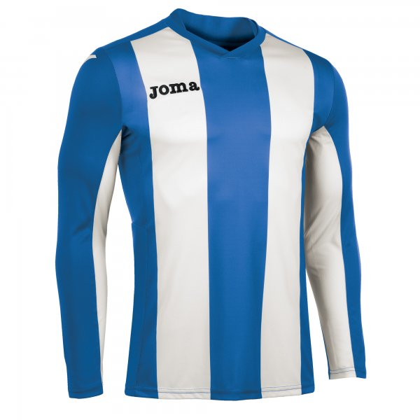 Joma T-Shirt Pisa Royal-White L/S
