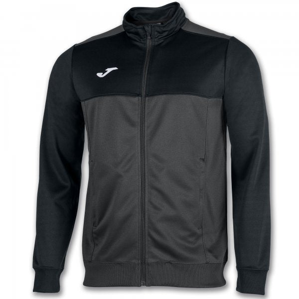 Joma Jacket Winner Dark Grey-Black