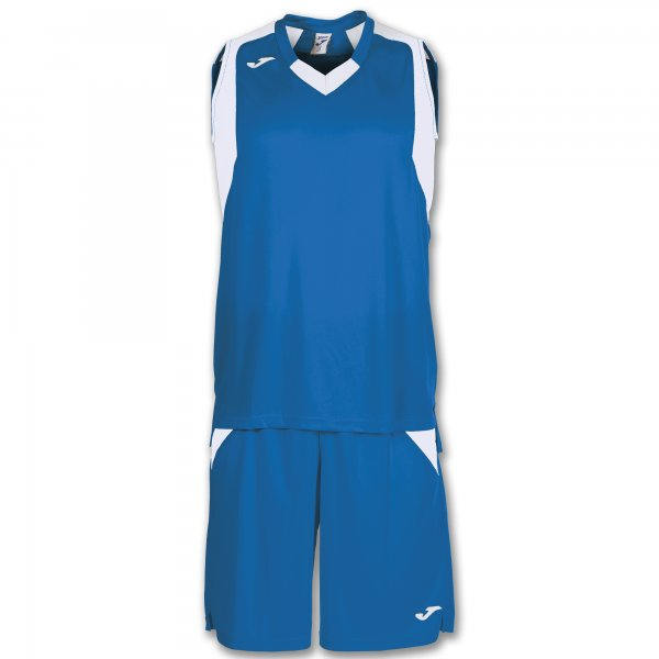Joma Set Final Royal-White Sleeveless