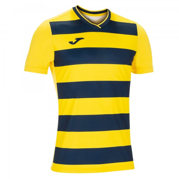 Joma Europa Iv T-Shirt Yellow-Dark Navy S/S