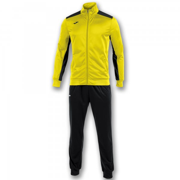 Joma Tracksuit Academy Yellow-Black