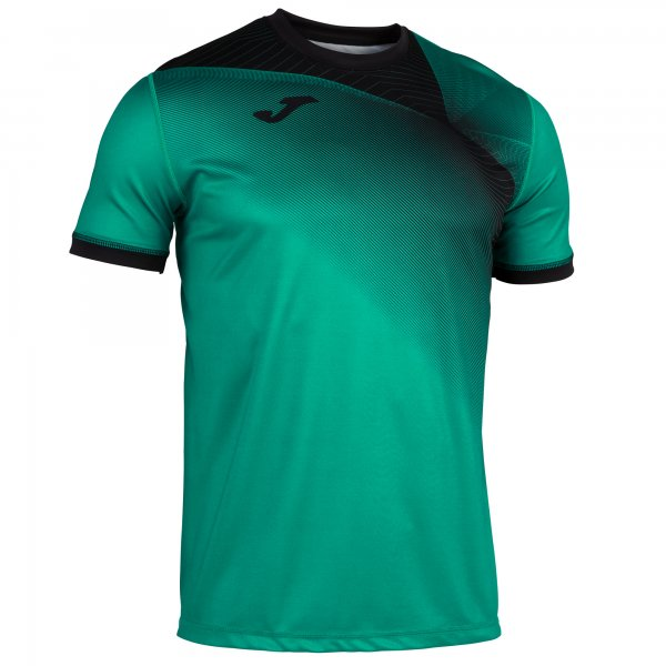 Joma Hispa Ii T-Shirt Green-Black S/S