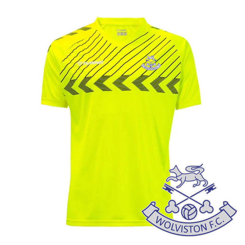 Wolviston Hummel Elite Jersey Safety Yellow