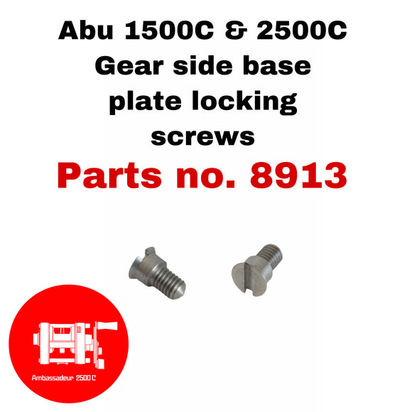 ABU Gear Side Plate Locking Screws #8913